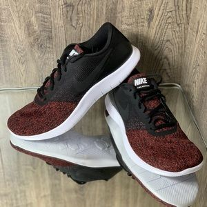Nike Shoes - ❤️NWT NIKE FLEX CONTACT Men's shoes blac/team red